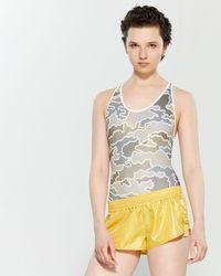 adidas By Stella McCartney - Color Block Camo Bodysuit - Lyst