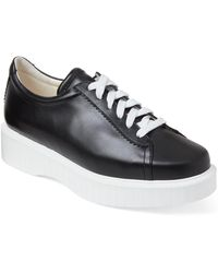 Robert Clergerie - Passet Platform Leather Sneakers - Lyst