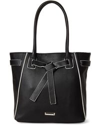 Tahari - Black Wrapped Up Tote - Lyst