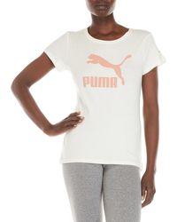 PUMA - Archive Life Logo Tee - Lyst