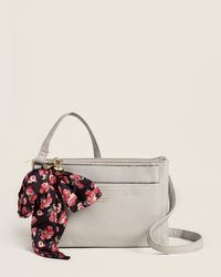 Juicy Couture Soft Pebble All Tied Up Scarf-accented Mid Crossbody - Multicolor
