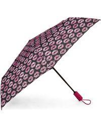 Betsey Johnson - Auto Open & Close Umbrella - Lyst