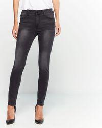 Tahari Classic Skinny Jeans - Blue