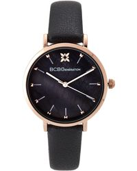 BCBGeneration - Gn50612002 Rose Gold-tone & Black Watch - Lyst