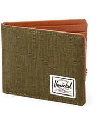 Herschel Supply Co. Olive Hank Bi-fold Wallet - Green