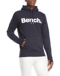 Bench - Pullover Logo Hoodie - Lyst