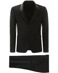 Fendi Ff Logo Tuxedo - Black