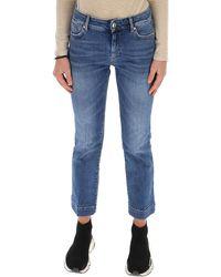 Sportmax Straight-leg Cropped Jeans - Blue