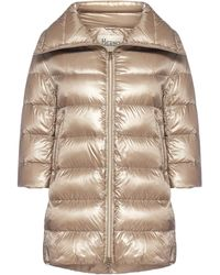 Herno - Cleofe Medium Quilted Nylon Down Jacket - Lyst