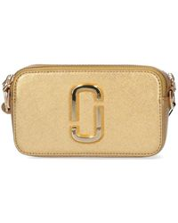 Marc Jacobs The Snapshot Dtm Camera Bag - Metallic