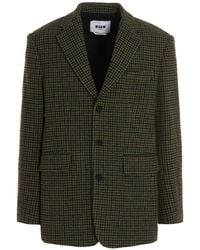 MSGM Outerwear Jacket - Green