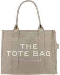 Marc Jacobs Beige Other Materials Tote - Brown
