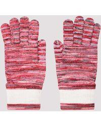 Missoni Wool Gloves - Multicolour