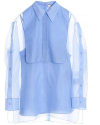 Fendi Silk Blouse - Blue