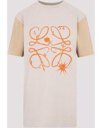 Loewe Boyfriend Anagram T-shirt - Natural