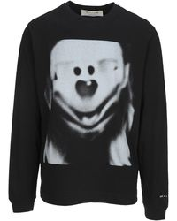 1017 ALYX 9SM Spectral Long-sleeve T-shirt - Black