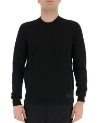 Prada - Side Stripe Pullover - Lyst