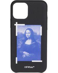 Off-White c/o Virgil Abloh Monalisa Iphone 11 Pro Case - Black