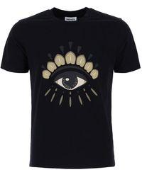 KENZO Eye Crewneck T-shirt - Black