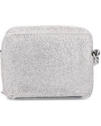 Kara Crystal-embellished Camera Bag - Metallic
