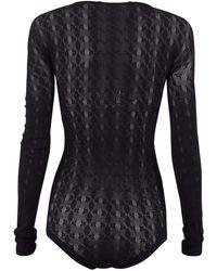 1017 ALYX 9SM Knitted Sheer Bodysuit - Blue