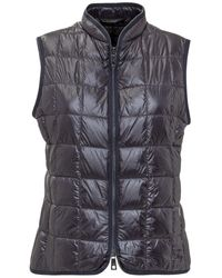 Fay Quilted Down Gilet - Blue