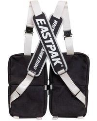White Mountaineering X Eastpak Multi-pocket Backpack - Black