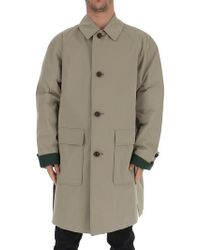 Burberry - Gabardine Coat - Lyst