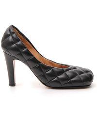 Bottega Veneta Padded Bloc Court Shoes - Black