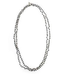 Ann Demeulemeester - Beaded Necklace - Lyst