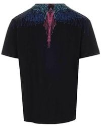 Marcelo Burlon Wing Print T-shirt - Black