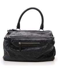 44d55706c6 Givenchy Black Nylon Pandora Bag in Black - Lyst