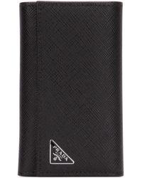 Prada Key Holder Wallet - Black