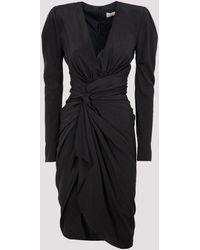 Alexandre Vauthier V-neck Dress - Black