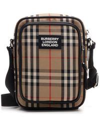 Burberry Vintage Check Crossbody Bag - Multicolor
