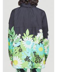 Moncler Genius Moncler X Richard Quinn Flower Print Jacket - Blue