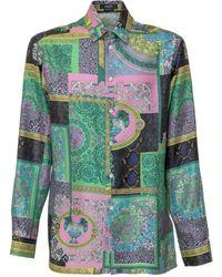 Versace Printed Shirt - Green