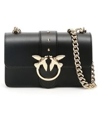 Pinko Love Simply Mini Bag - Black