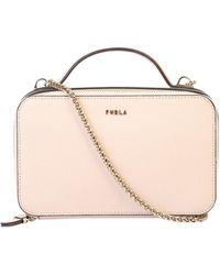 Furla Babylon Medium Crossbody Bag - Pink