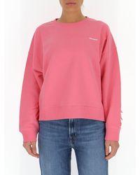 RED Valentino - Redvalentino Ruffle Detail Sweatshirt - Lyst