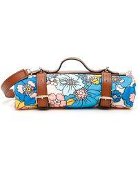 Dodo Bar Or Harness Towel Bag With Shoulder Strap - Brown