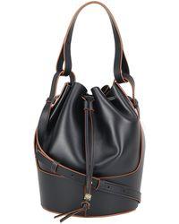Loewe Balloon Bucket Bag - Black