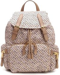 Burberry - The Medium Rucksack In Monogram Print Nylon - Lyst