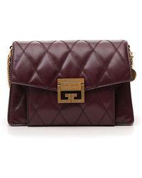 Givenchy Small Gv3 Shoulder Bag - Purple