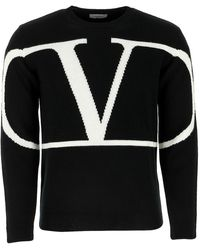Valentino black Cashmere Jumper