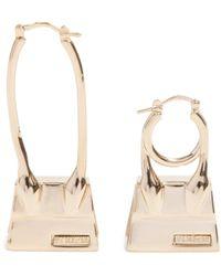 Jacquemus Le Creoles Chiquito Noeud Earrings Jewellery - Metallic