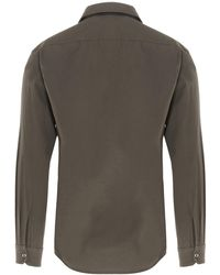 Lemaire Classic Buttoned Shirt - Grey