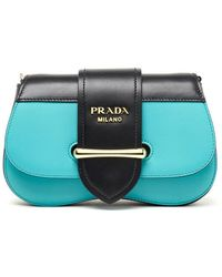 Prada Sidonie Belt Bag - Blue