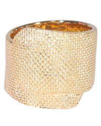 Ambush Textured Tape Ring - Metallic