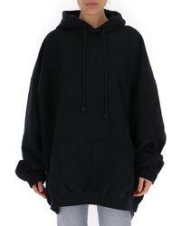 Balenciaga Oversized Hoodie - Black